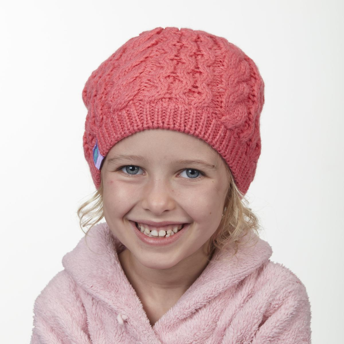 Turtle Fur Audra Girl/'s Heavyweight Cable Knit Beanie