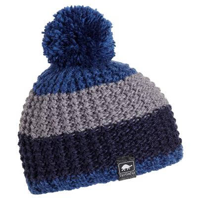 Turtle Fur Kids Champ Pom Winter Ski Hat Blue