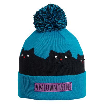 Turtle Fur Kids Meowntains Cat Winter Hat Atlantic