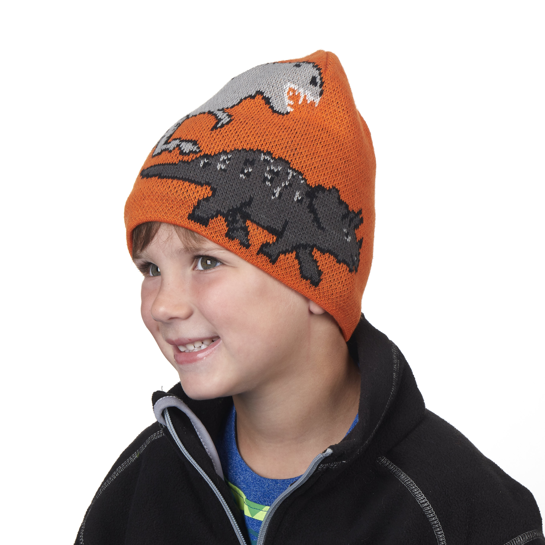 94923ded8cab0 Turtle Fur Jurassic Boy s Knit Dinosaur Beanie
