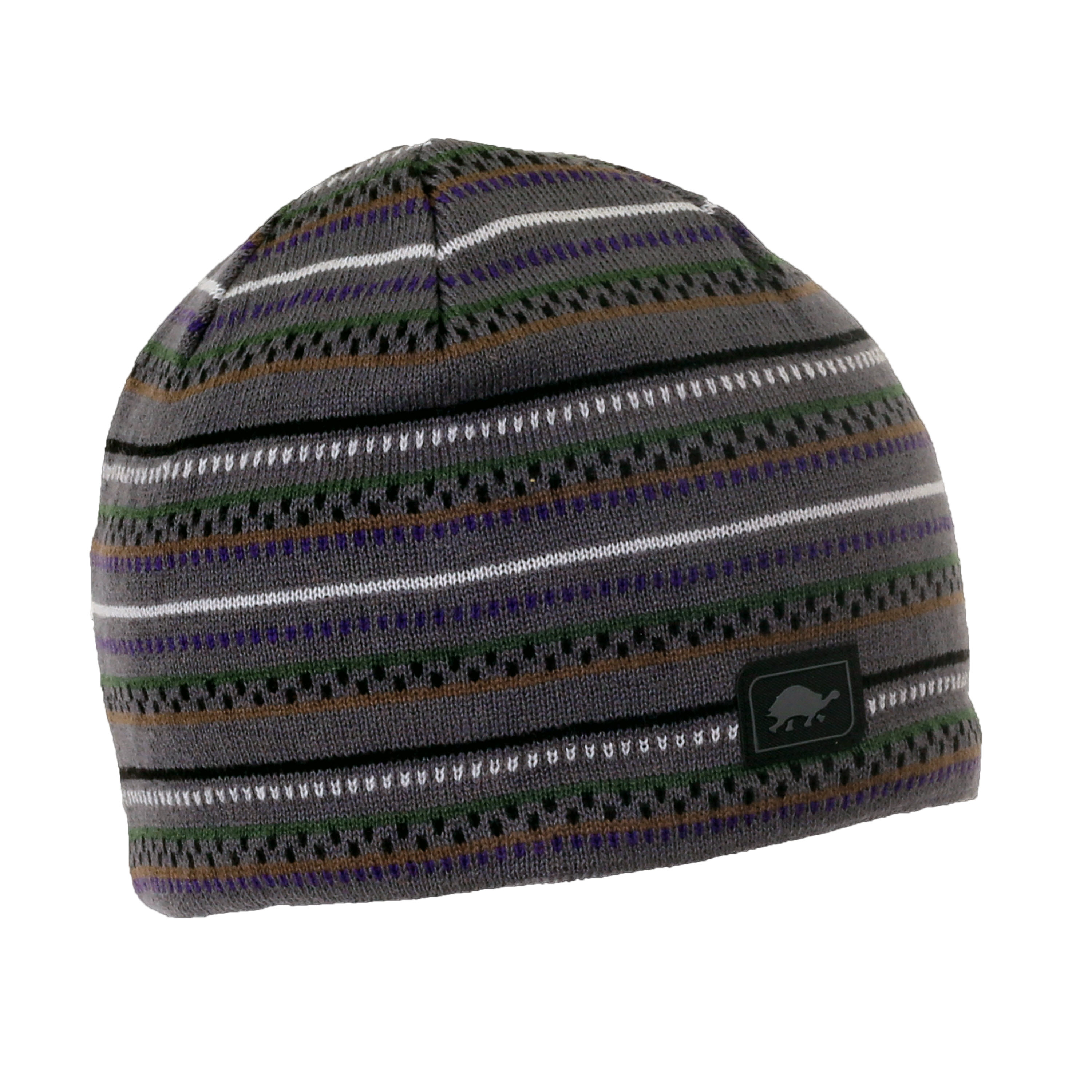 Turtle Fur Niall Men s Merino Wool Striped Knit Beanie  38147735322