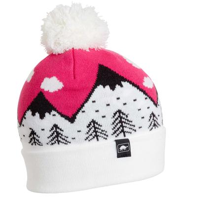 Turtle Fur Kids Mountain Dreamer Pom Winter Ski Hat Lotus