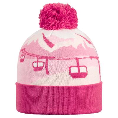 Turtle Fur Kids Gondy Pom Winter Ski Hat Petal