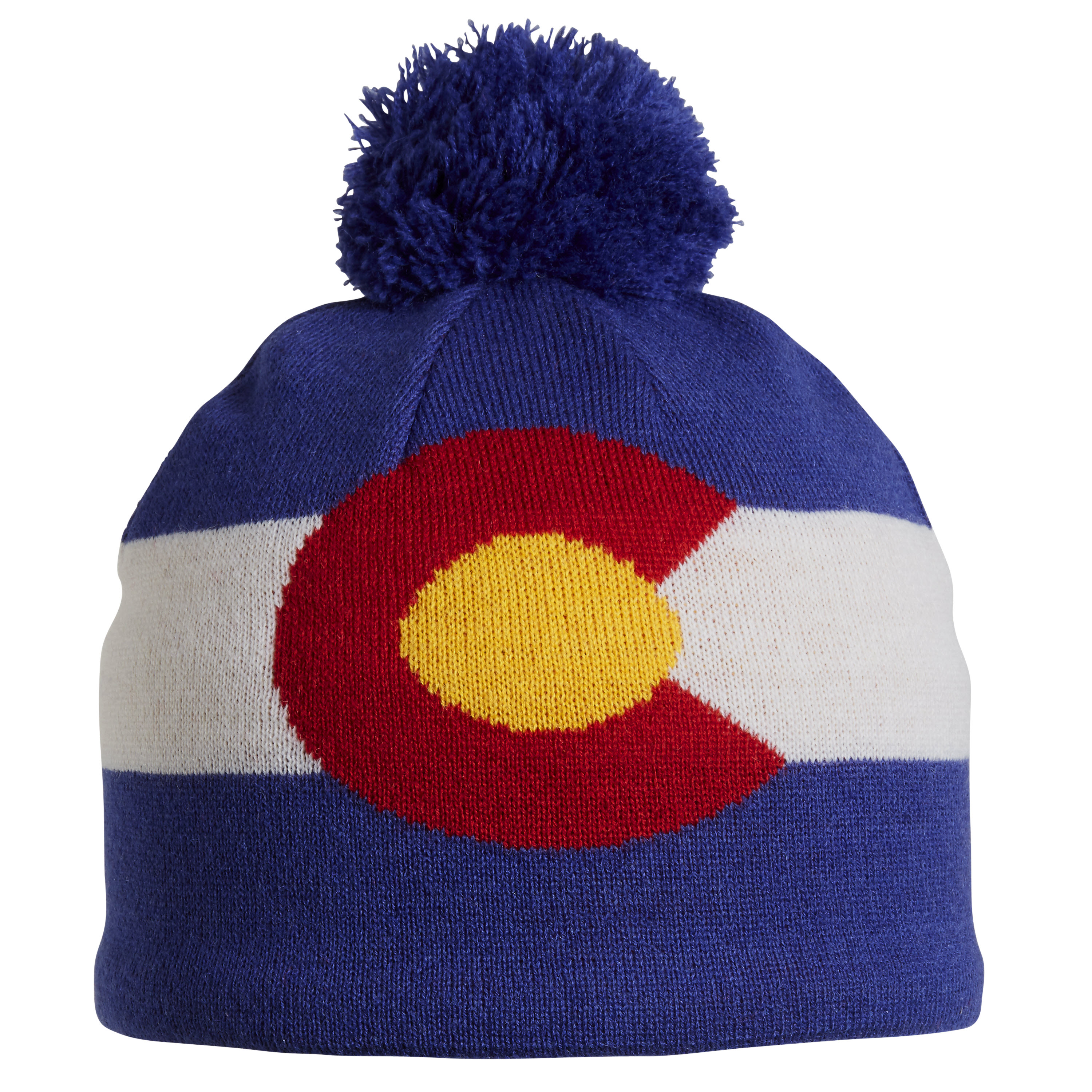 Turtle Fur Colorado Pom Merino Wool Ski Hat  05665609cbe