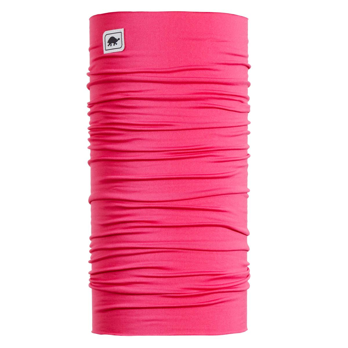 Turtle Fur Totally Tubular Comfort Shell Tube Neck Gaiter Pink About It - One Size