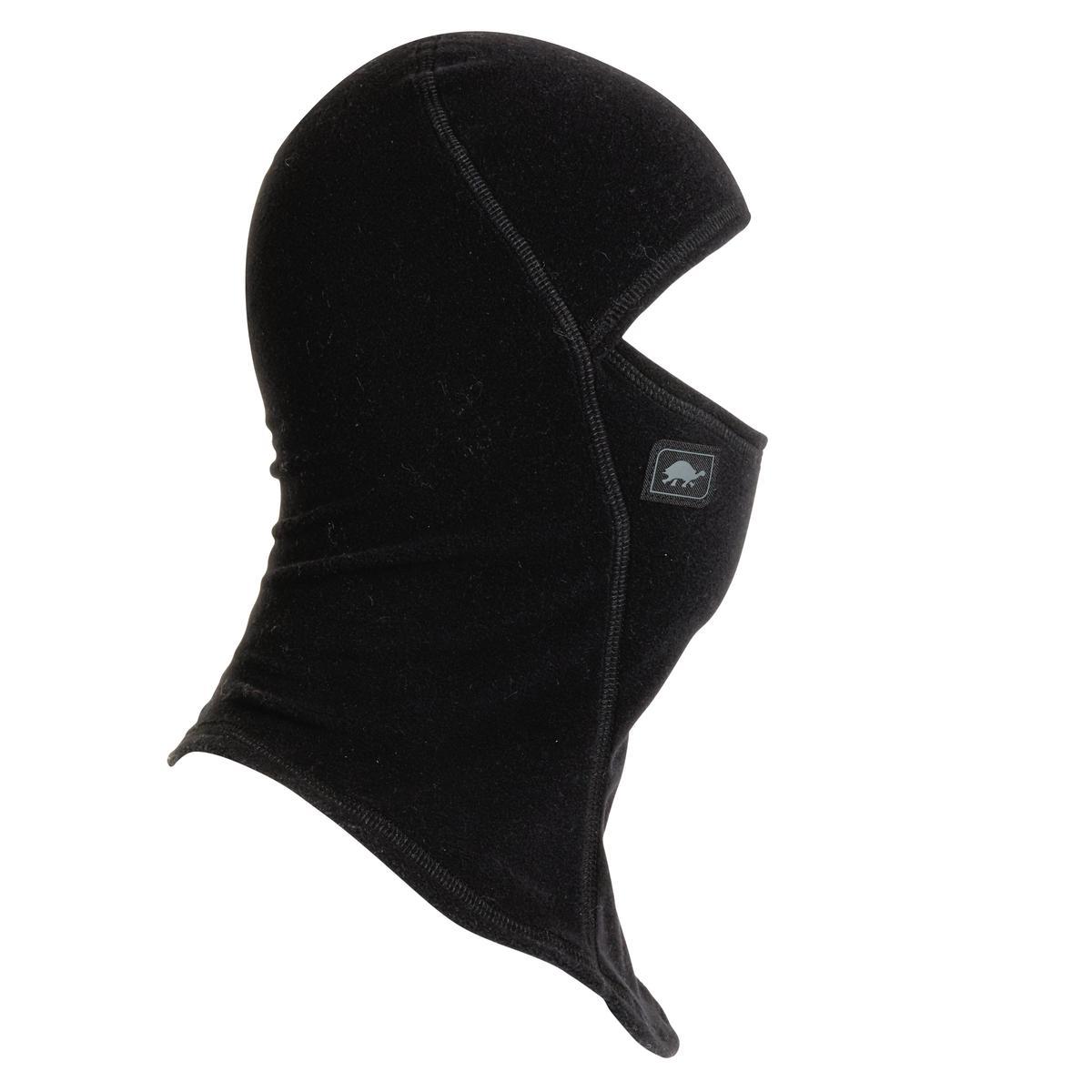 Turtle Fur Fleece Ninja Balaclava Face Mask Black