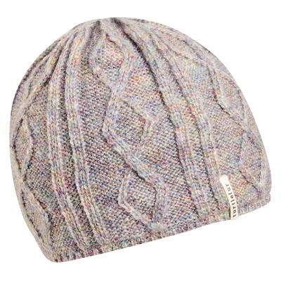 Turtle Fur Monica Sherpasoft Fleece Lined Cable Knit Beanie Fog - Women