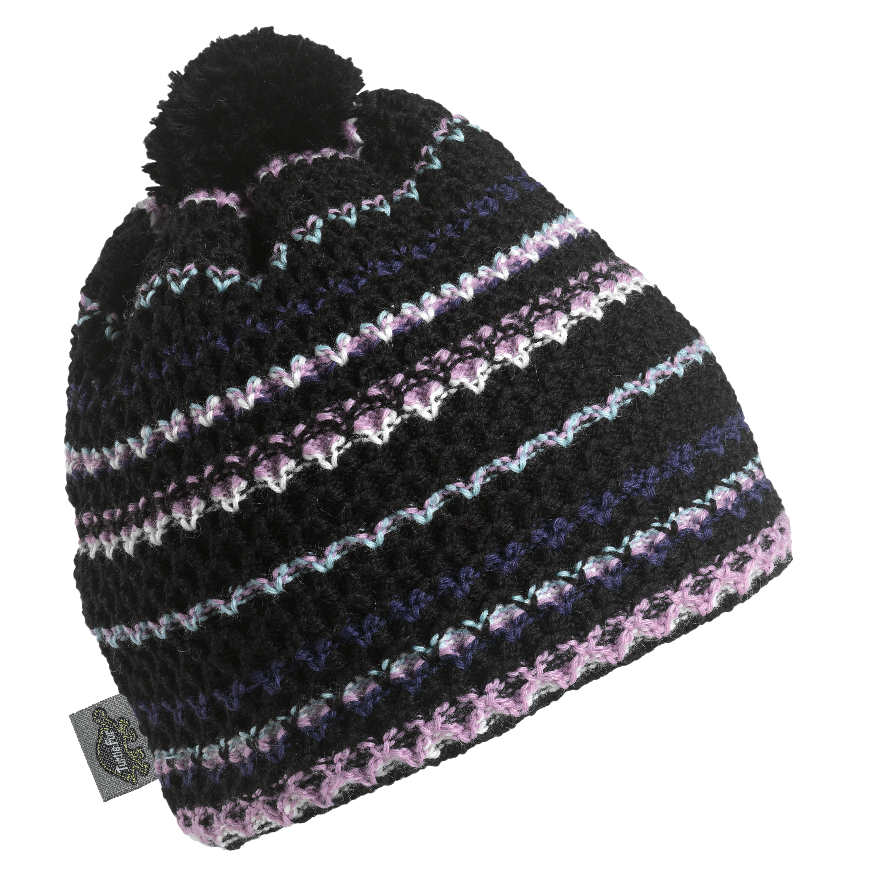 8a9353bf1 Details about Turtle Fur - Women's Serena, Classic Wool Ski Pom Hat