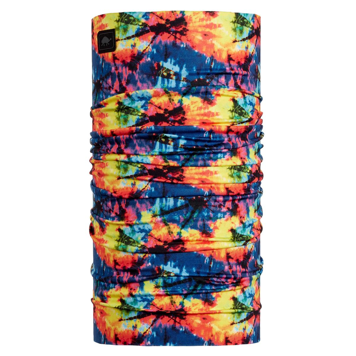 Turtle Fur Youth Comfort Shell Totally Tubular Lightweight Neck Gaiter Classic Tie Dye