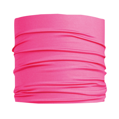 Turtle Fur Ultralight Breathable Totally Tubular Upper Half Face Covering Neck Gaiter Hot Pink