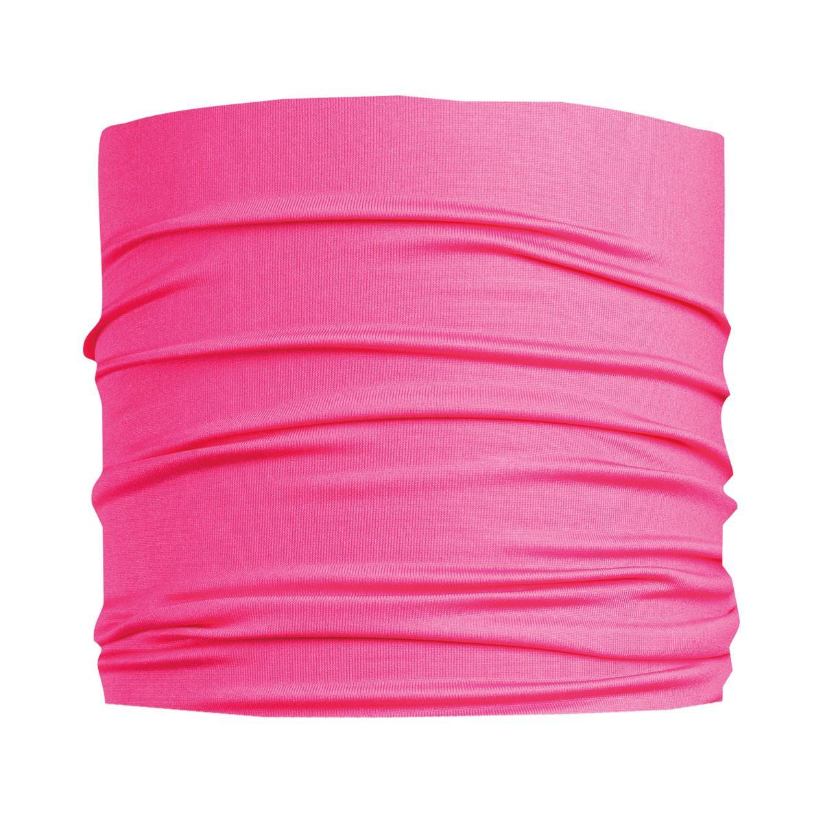 Turtle Fur Ultralight Breathable Totally Tubular Upper Half Face Covering Neck Gaiter Hot Pink