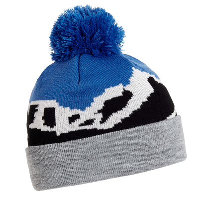 Turtle Fur Kids Mountain Air Pom Winter Ski Hat Black