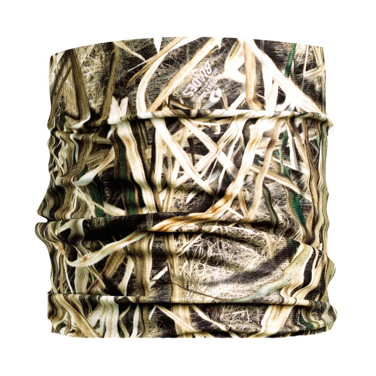 Turtle Fur Ultralight Breathable Totally Tubular Upper Half Face Covering Neck Gaiter Mossy Oak Shadow Grass Blades