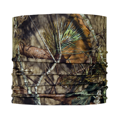 Turtle Fur Ultralight Breathable Totally Tubular Upper Half Face Covering Neck Gaiter Mossy Oak Break-Up Country