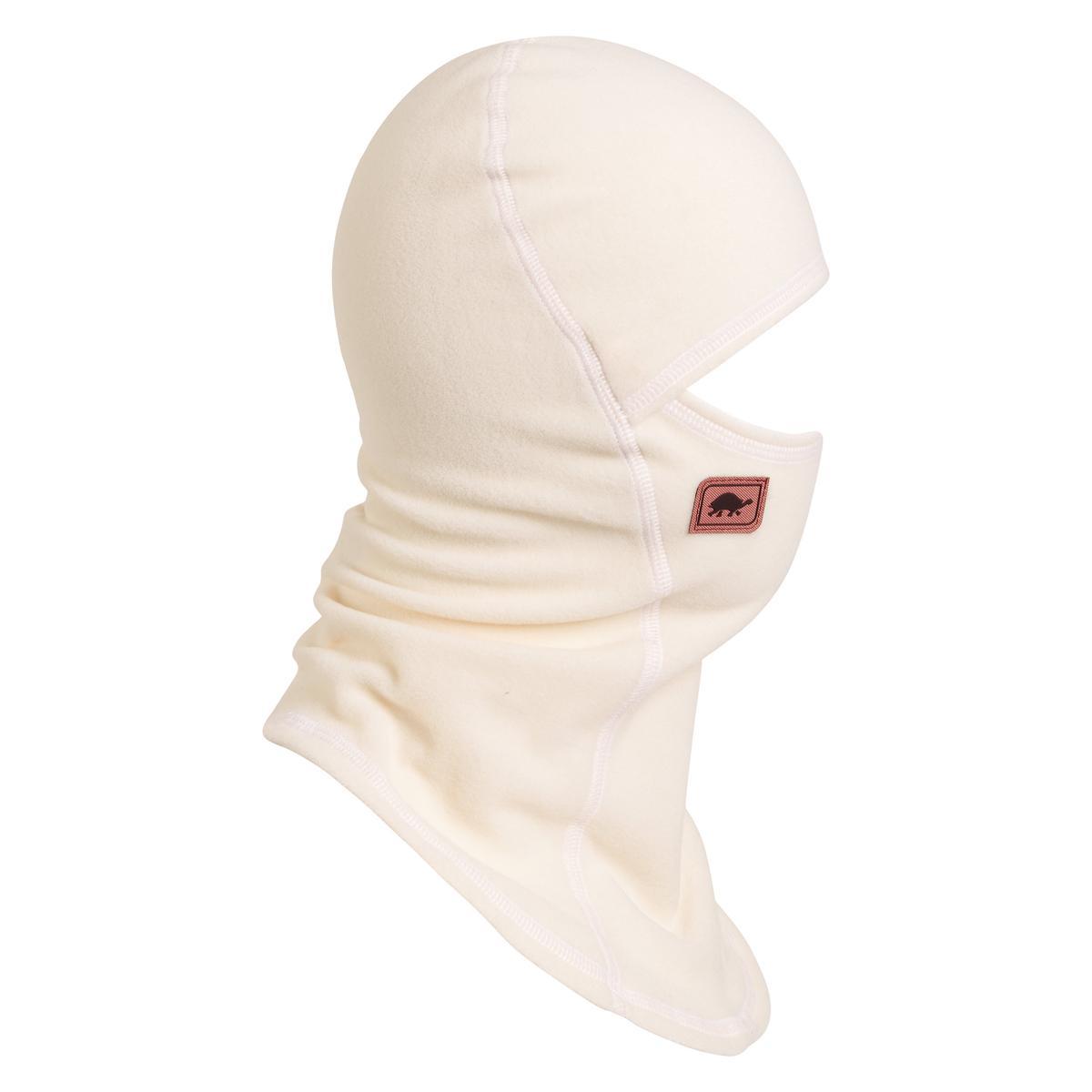 Turtle Fur Fleece Ninja Balaclava Face Mask Pearl