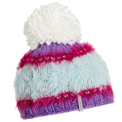 Turtle Fur Kids Cupcake Pom Winter Ski Hat Purple