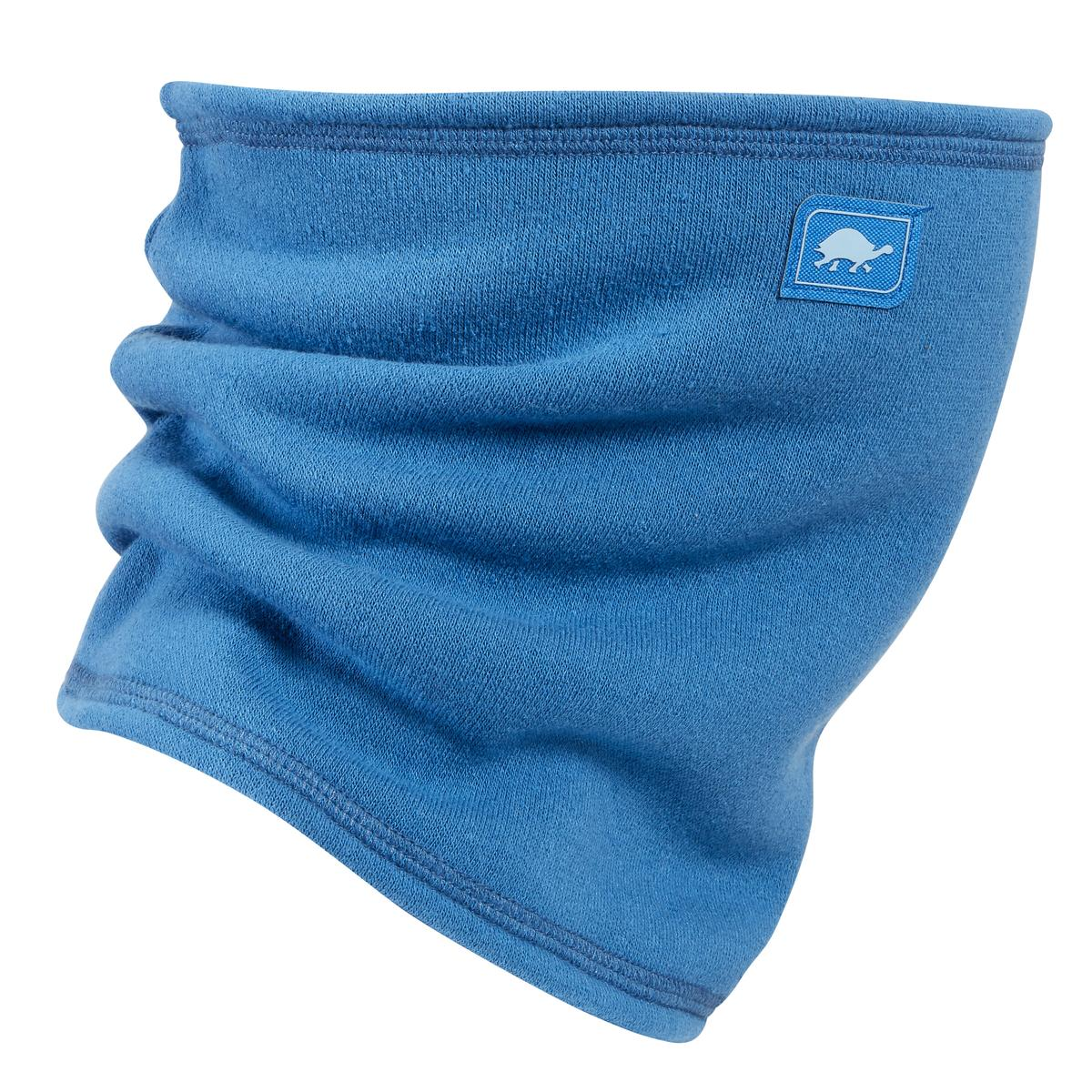 Turtle Fur Switchback Jersey Fleece Single Layer Neck Gaiter Into The Blue